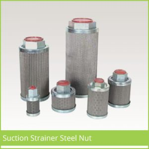 Suction Strainer Steel Nut