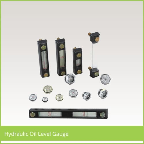 hydraulic oil level gauge
